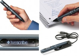 Smart Pen from LiveScribe Records all your notes and stores them for you