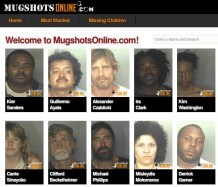 Mugshots-website
