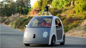 Googles 100% self driving car hits the road today